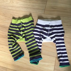 Izzy & Owie Bottoms - Izzy & Owie [12M] Knit Pants- owl and whale